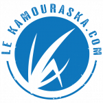 Le Kamouraska point com Logo bleu