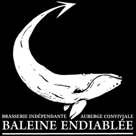 Baleine Endiablée - Logo