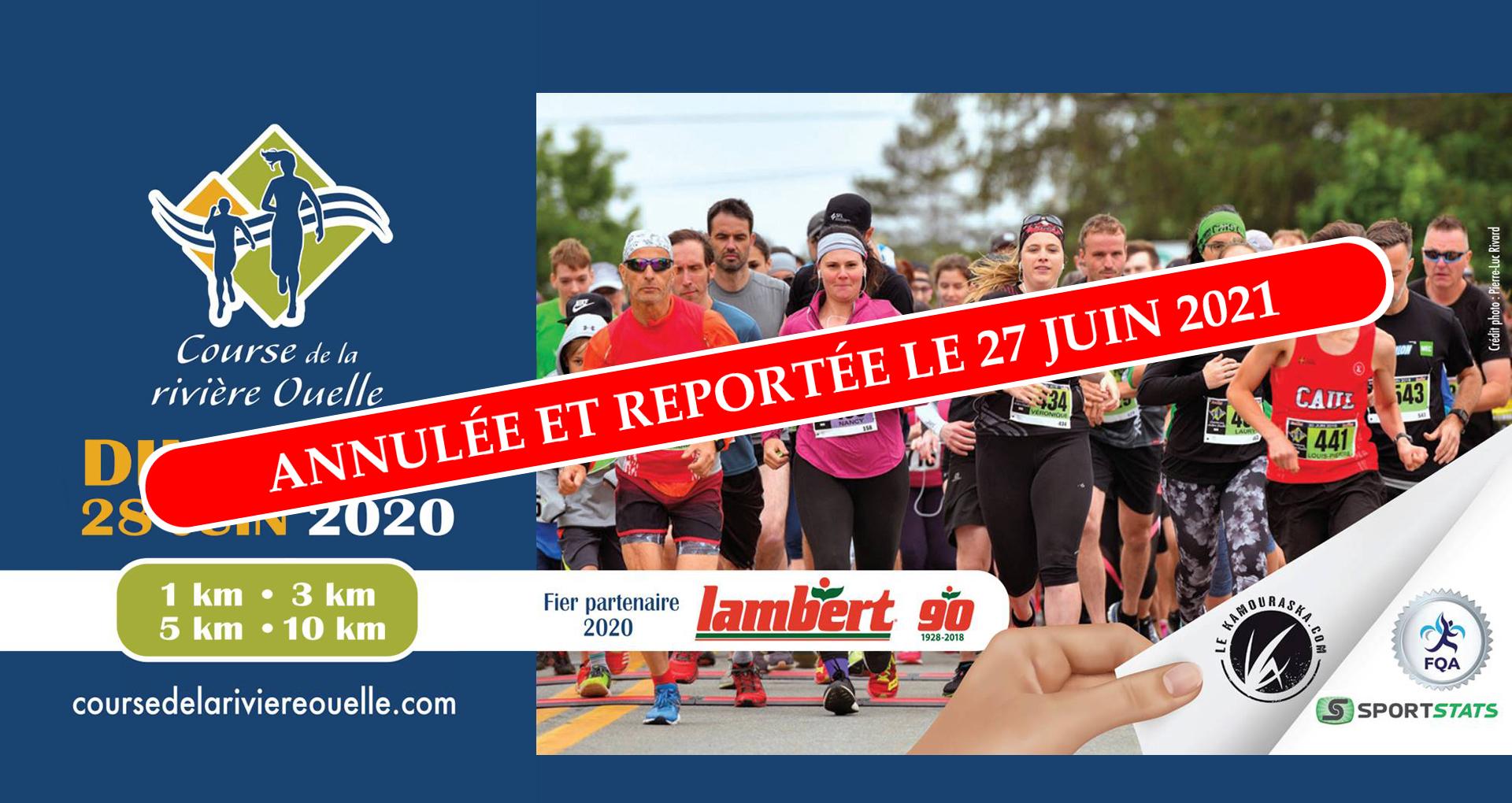 Course Riviere Ouelle 2020-Annulée